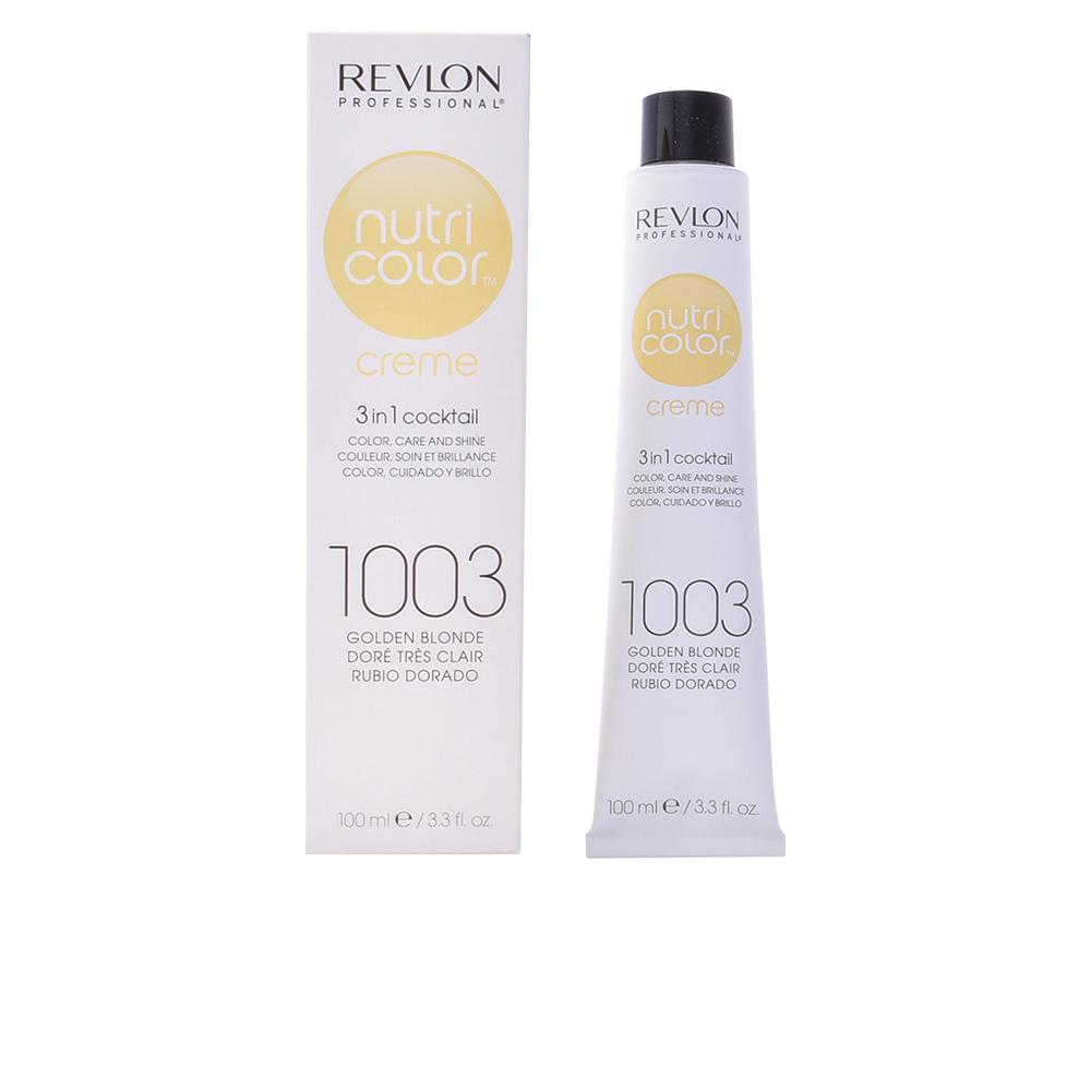 Barvna krema za lase Nutri Color Revlon - 1002 - White platinum 100 ml