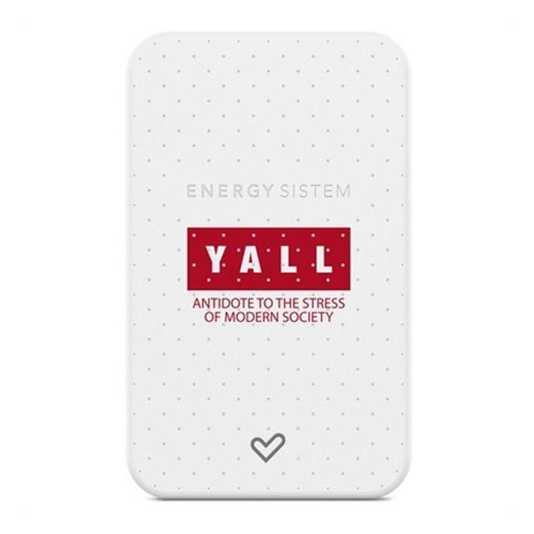Power Bank Energy Sistem Yall Edition 5000 mAh Blanco