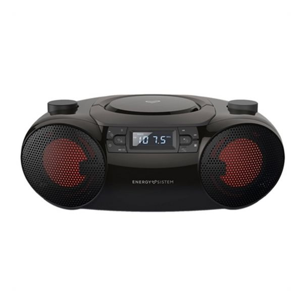 Radio CD Bluetooth MP3 Energy Sistem Boombox 6 12W Black