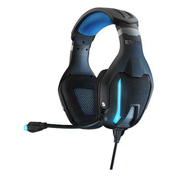 Gaming Headset with Microphone Energy Sistem ESG-5 3.5 mm LED Black