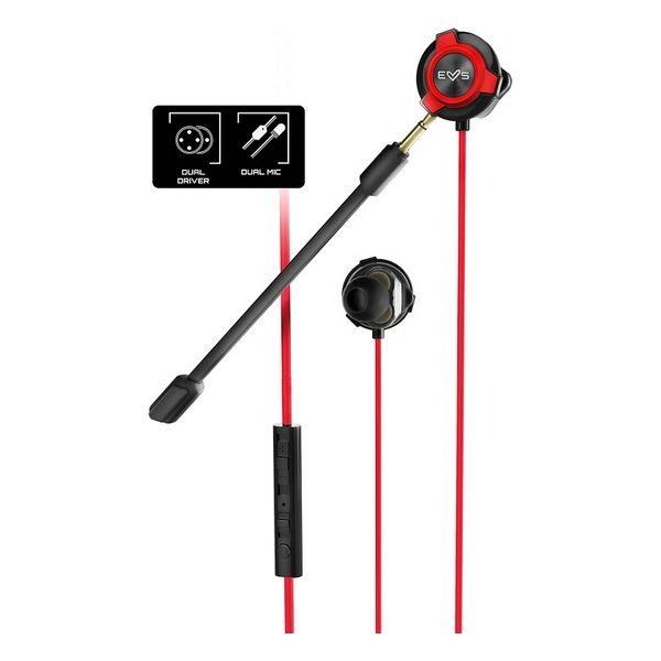 Auriculares con Micrófono Gaming Energy Sistem ESG-1 3.5 mm Negro Rojo