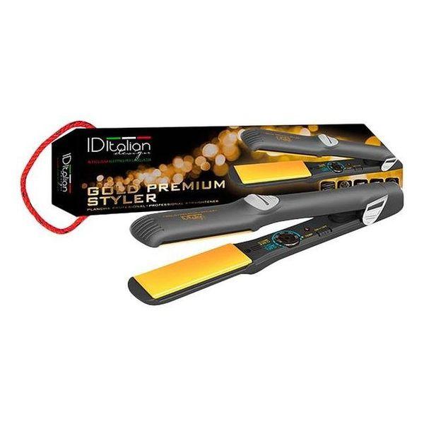 Hair Straightener Gold Premiun Styler Id Italian
