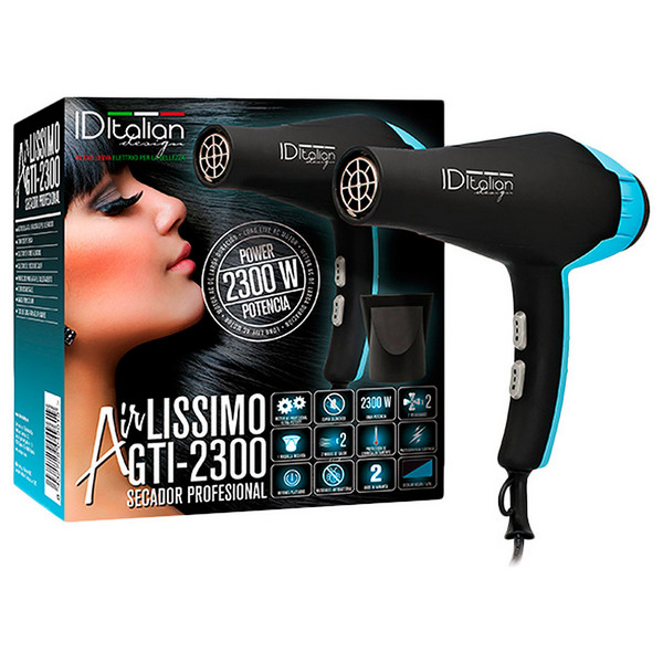 Hairdryer Airlissimo Gti 2300 Id Italian