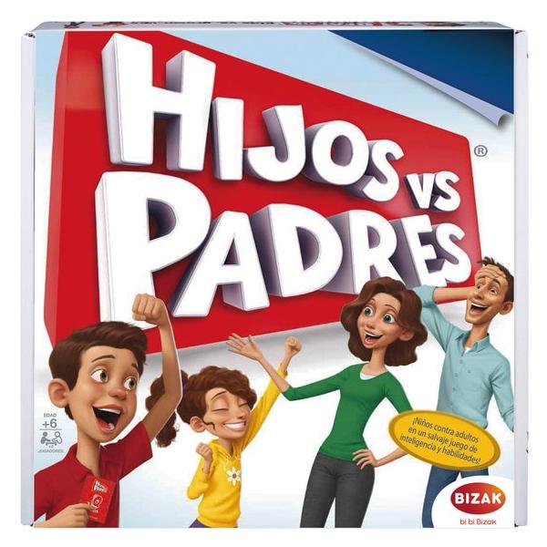 Board game Hijos Vs Padres Bizak (ES)