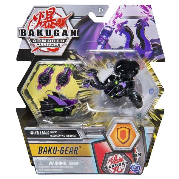 Action Figure Bakugan Ultra W/ Battle Gear Bizak