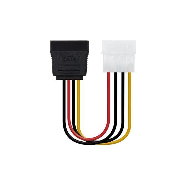 SATA to Molex Power Cable NANOCABLE 10.19.0205-OEM