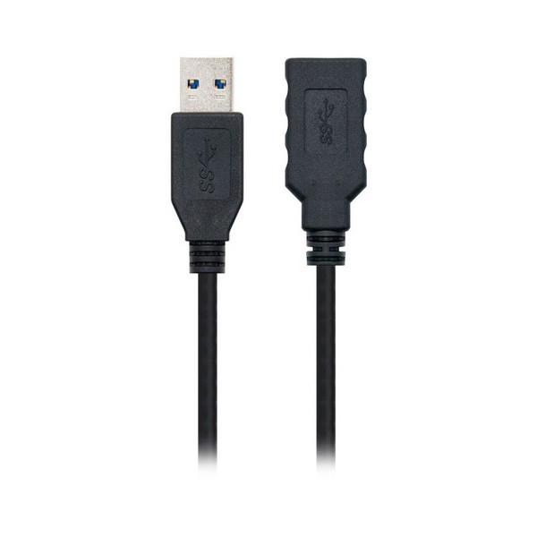 Cable USB NANOCABLE 10.01.090 Negro