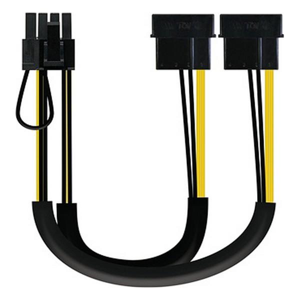 Cable de Alimentación Molex NANOCABLE 10.19.1201 PCI-e (20 cm)