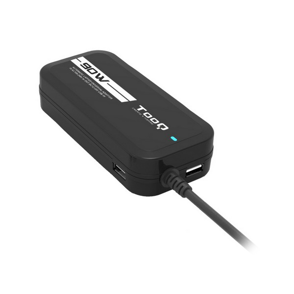 Laptop Charger TooQ TQLC-90BS02M 90W 12 Connectors Black Computers Electronics
