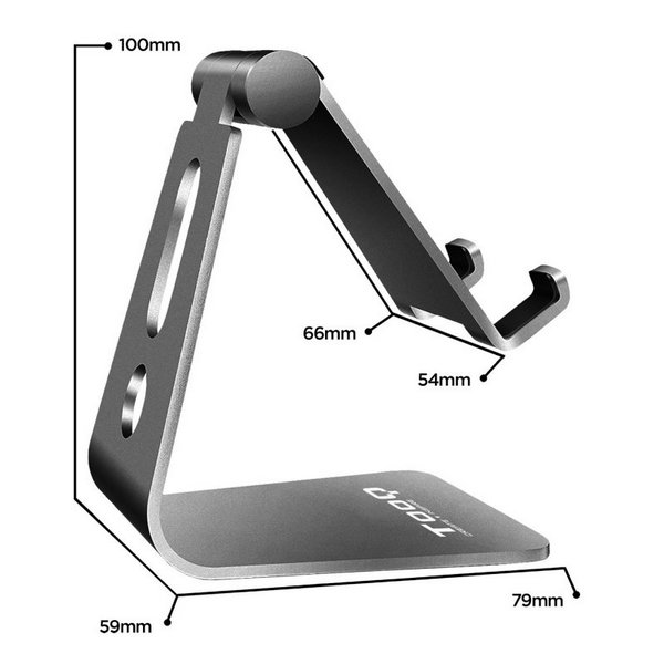 Mobile or Tablet Support TooQ PH0001-G11 Grey Computers Electronics