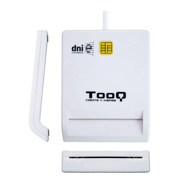 Lector de Tarjetas Inteligentes TooQ TQR-210W USB 2.0 Blanco