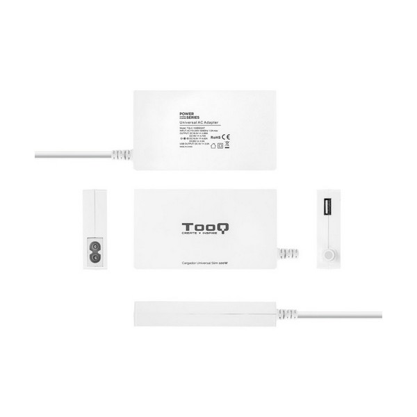 Laptop Charger TooQ TQLC-102BS02AT 100W White Computers Electronics