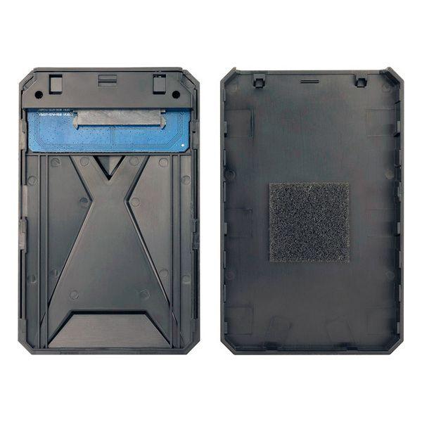 "Housing for Hard Disk TooQ TQE-2550BL 2,5"" USB 3.0 Black Computers Electronics"