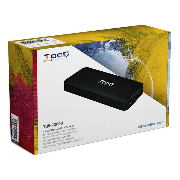 External Box TooQ TQE-2280B SSD M.2