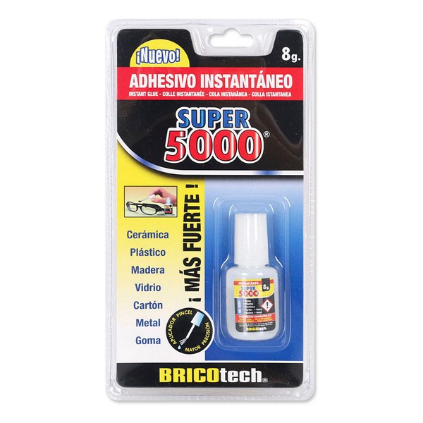 Adhesivo Instantaneo Super 5000 Pincel (8 G)