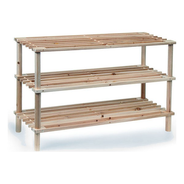Shoe Rack Confortime Wood (3 Shelves)