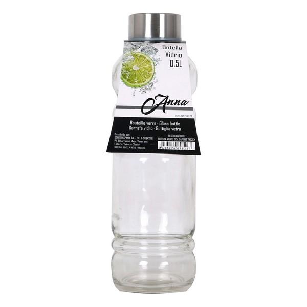 Bottle Glass Threaded cover 0,5L