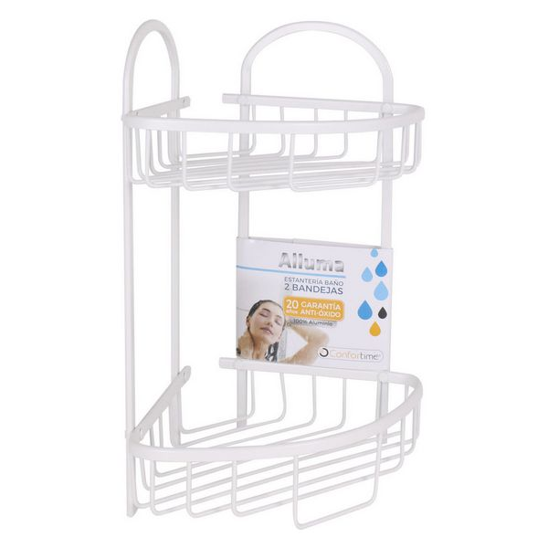 Bathroom Shelves Confortime (23 x 23 x 42 cm)