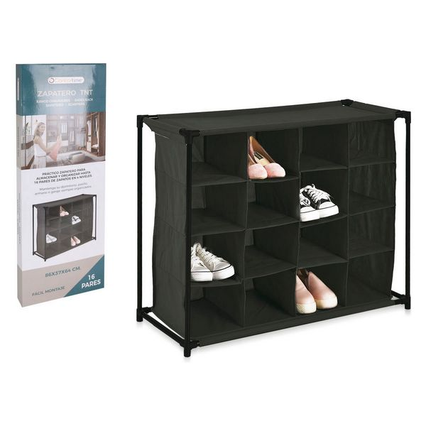 Shoe Rack Confortime Cloth (16 pairs) (86 x 37 x 64 cm)