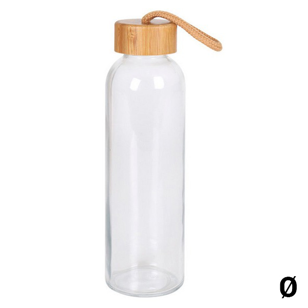 Bottle Bewinner Glass Bamboo