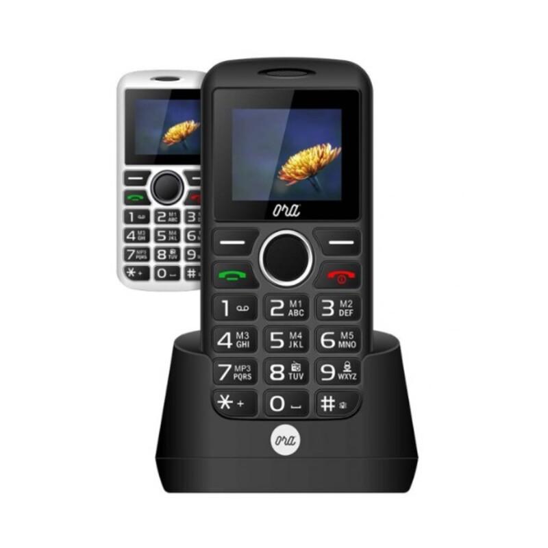 "Teléfono Móvil ORA Mira S1701 1,77"" LCD Dual SIM FM Blanco"