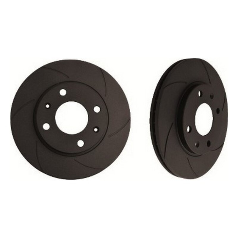 Brake Discs Black Diamond 6KBD1165G6 Solid Rear 6 Stripes