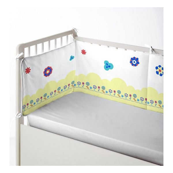 Cot protector Cool Kids Funny Lion (60 x 60 x 60 + 40 cm)