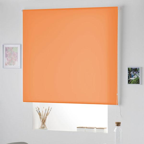 Translucent roller blind Naturals Orange