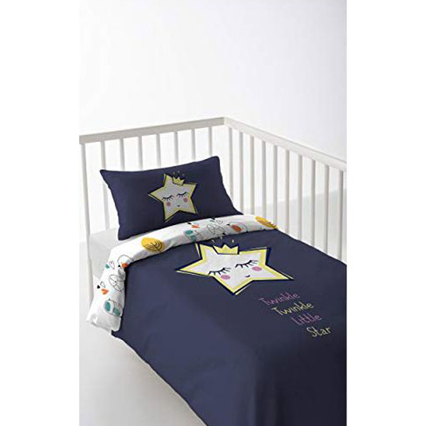 Cot Quilt Cover Cool Kids Anastasia (60cm cot)