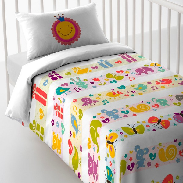 Cot Quilt Cover Cool Kids Silvina