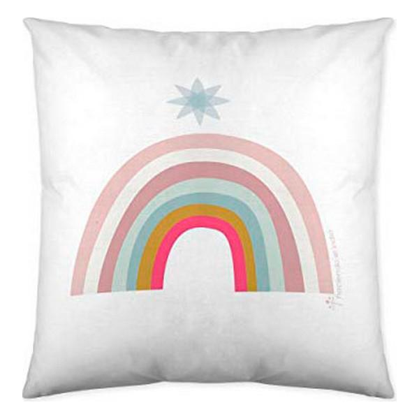 Cushion cover Pink Rainbow Haciendo el Indio (40 x 40 cm)