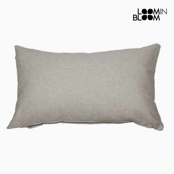 Cushion (30 x 50 x 10 cm) Cotton and polyester Grey