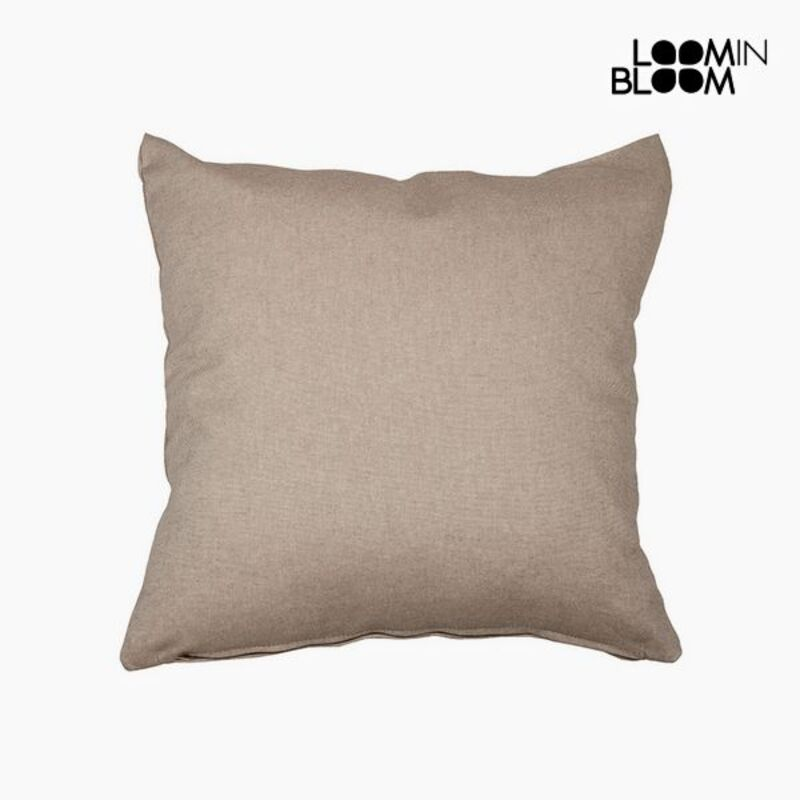 Cushion (60 x 60 x 10 cm) Cotton and polyester Brown