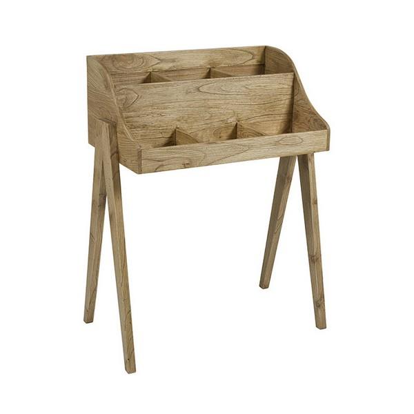 Side Table Mindi wood Plywood (80 x 45 x 102 cm)