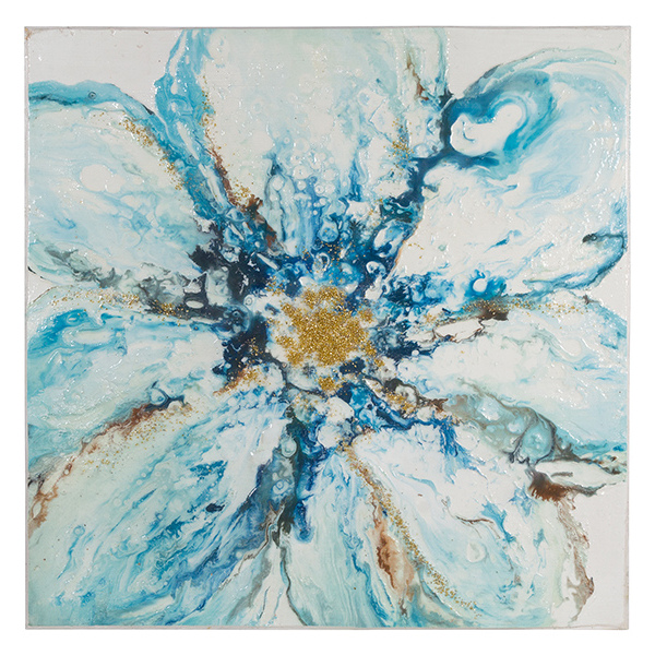 Oil Painting Fleur (100 x 4 x 100 cm)