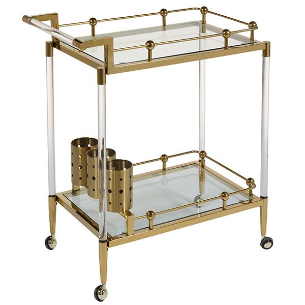Serving trolley (40 x 84 x 83 cm)
