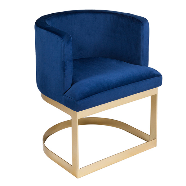 Dining Chair Pine Blue (60 X 55 x 76 cm)