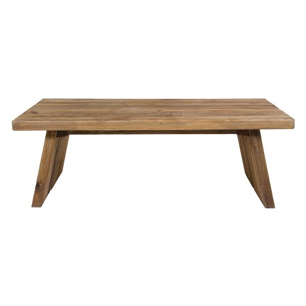 Centre Table (135 x 78 x 45 cm) Recycled wood