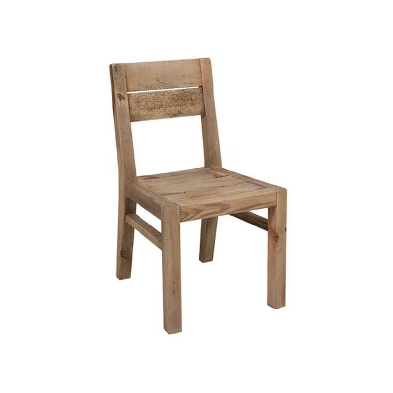 Dining Chair (49 x 55 x 87 cm) Recycled wood