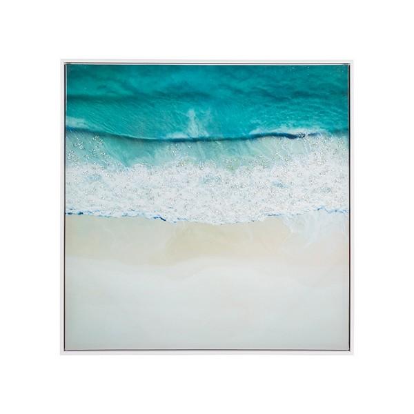 Oil Painting Sea Mdf