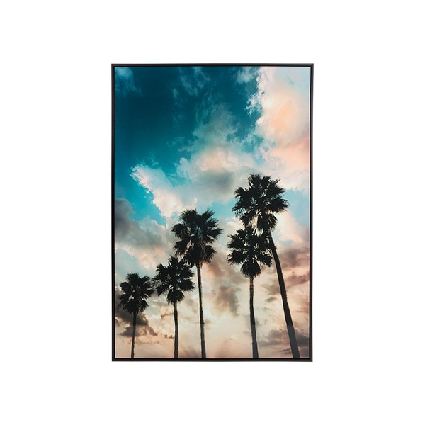 Oil Painting Palms Mdf