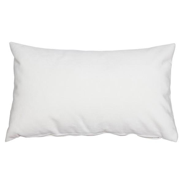 Cushion Velvet White