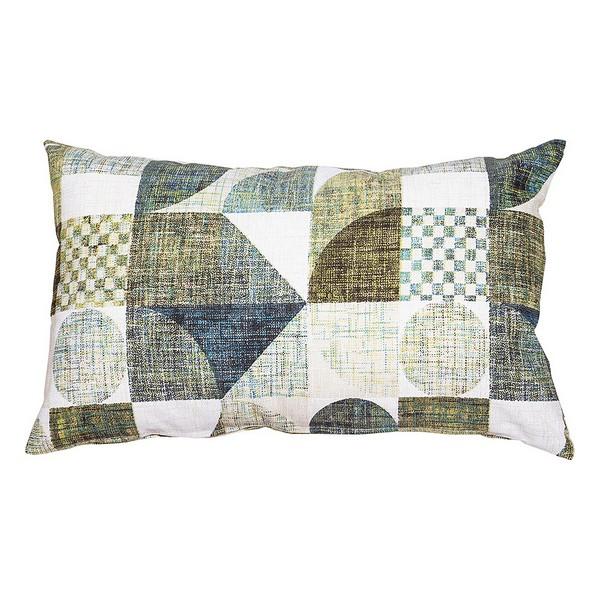 Cushion Damero Turquoise