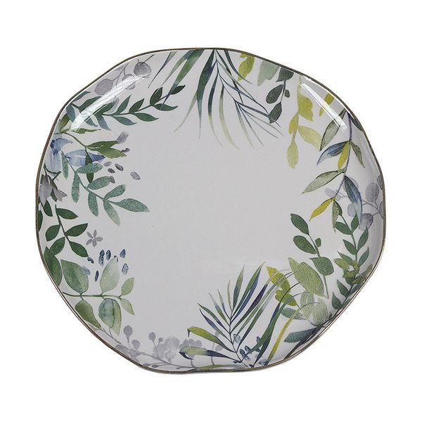 Flat plate Amazonia Porcelain (26 X 26 x 2 cm)