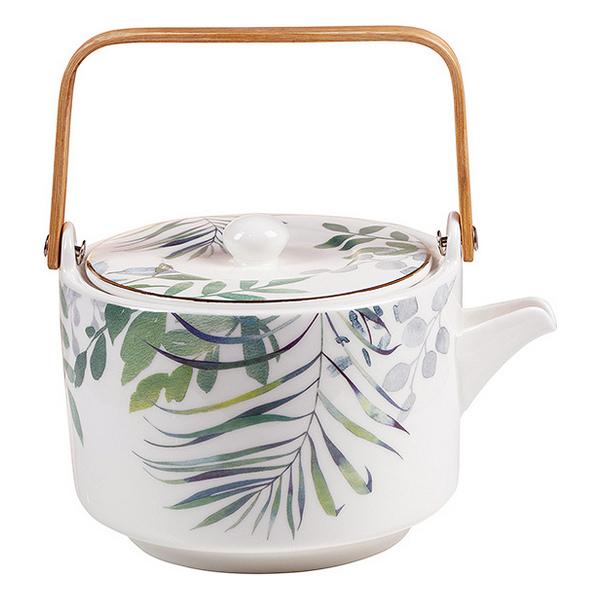 Teapot Amazonia Porcelain (17 X 15 x 12 cm)