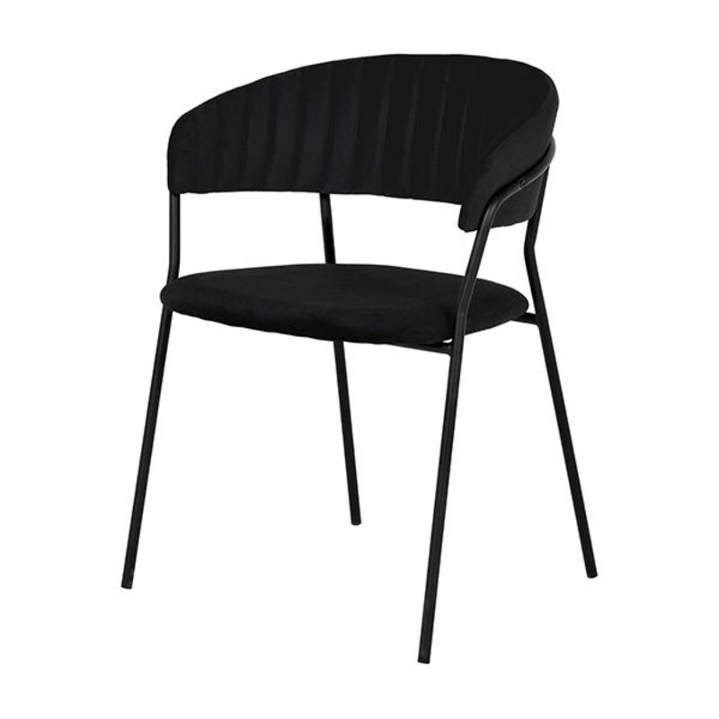 Dining Chair Polyester (56 x 79 x 46 cm)