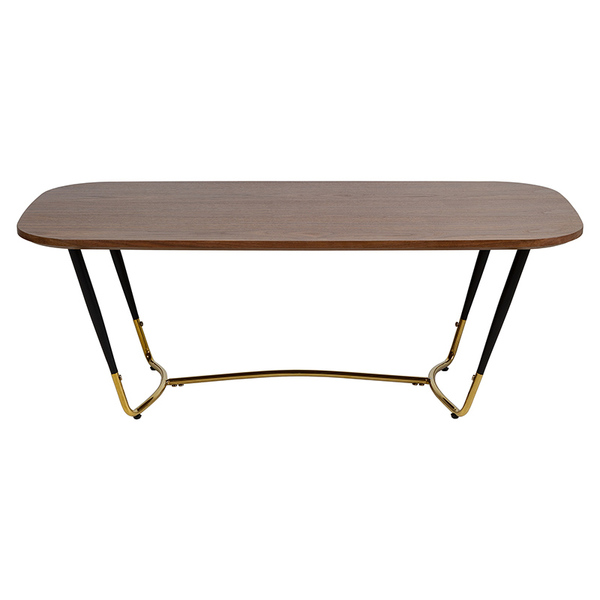 Centre Table Max MDF Wood (120 x 60 x 43 cm)