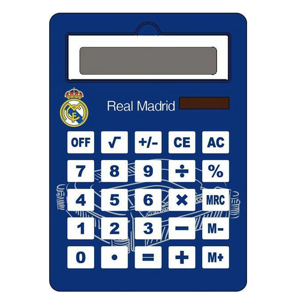Calculator Jumbo Real Madrid C.F. Solar Blue