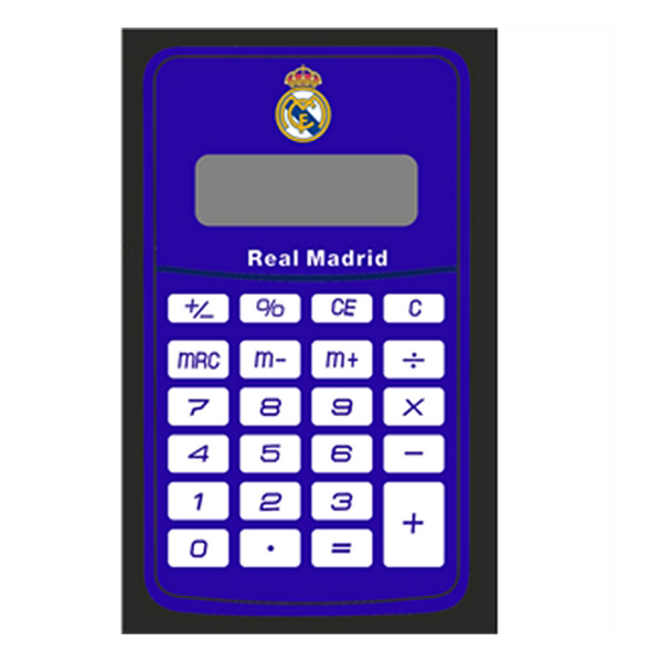 Calculator Real Madrid C.F. Blue White