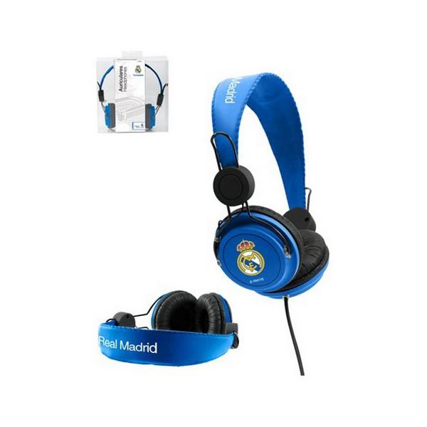 Auriculares de Diadema Real Madrid C.F. Azul
